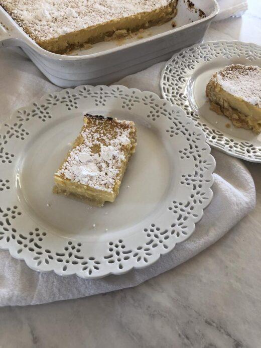 Martha Stewart Creamy Lemon Squares