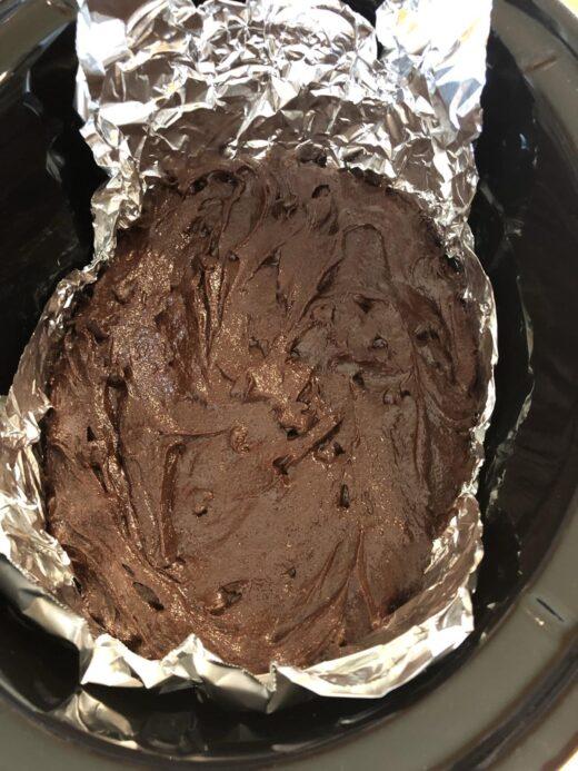 Martha Stewart Slow Cooker Brownies Recipe batter