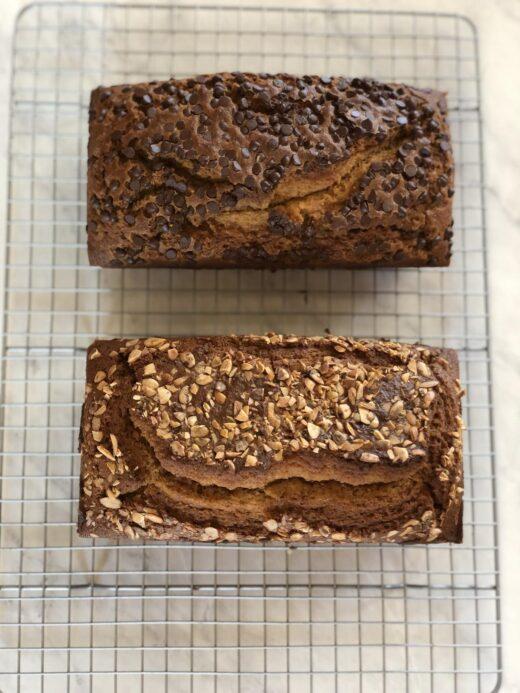 Gluten Free Pumpkin Bread Loaves