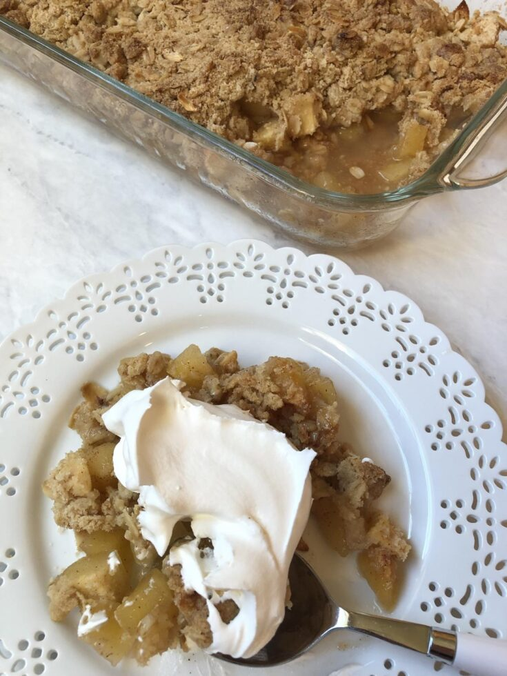 Martha Stewart's Apple Crisp Recipe