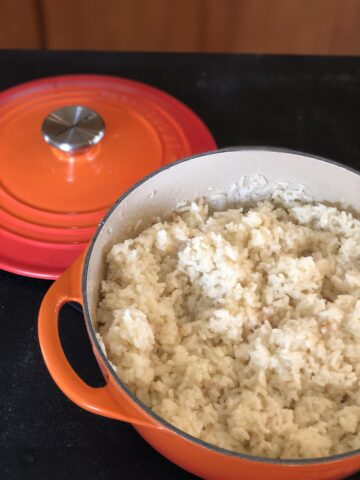 Martha Stewart's Parmesan Rice