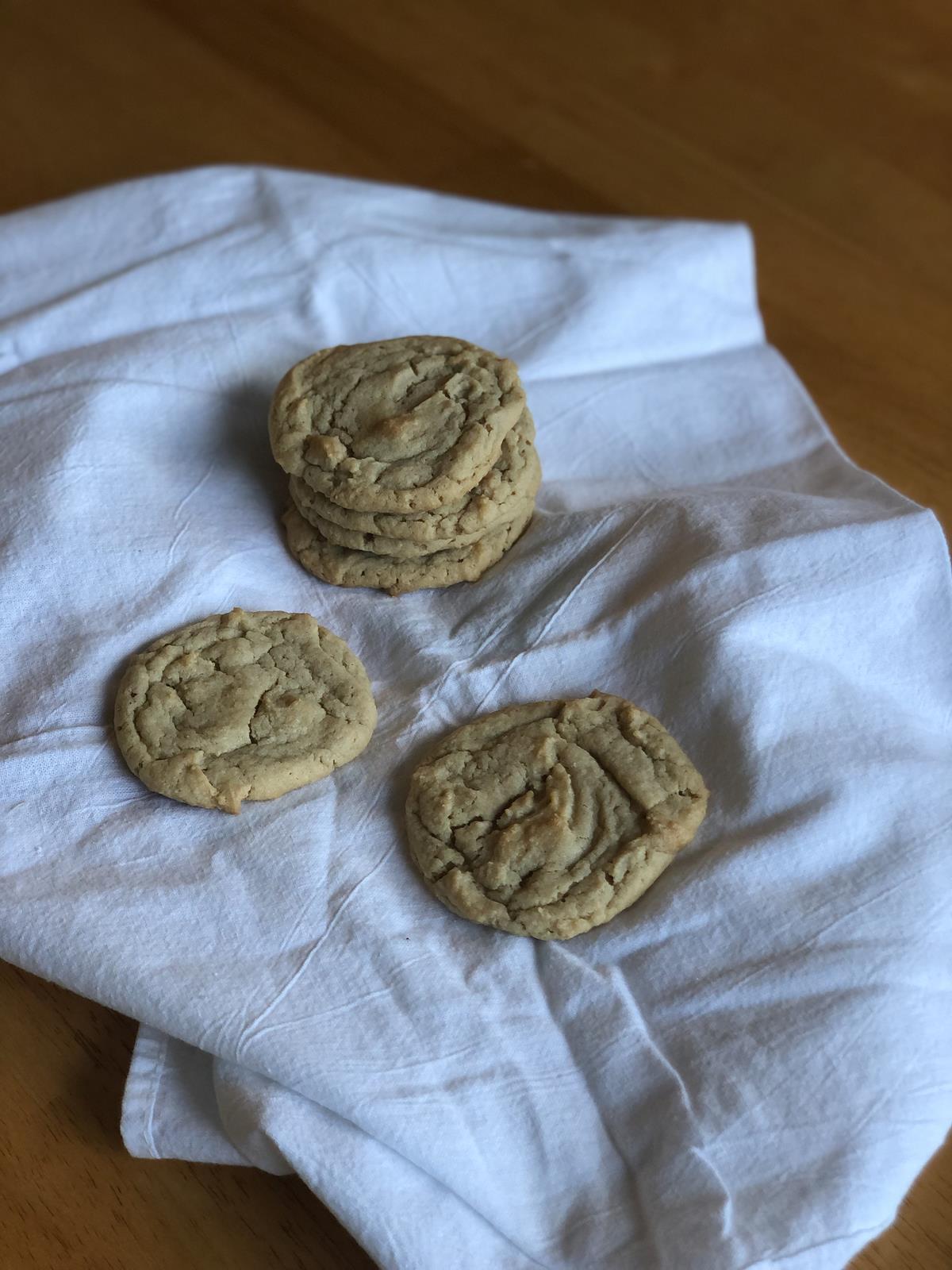 Peanut Butter M&M Cookies gluten free