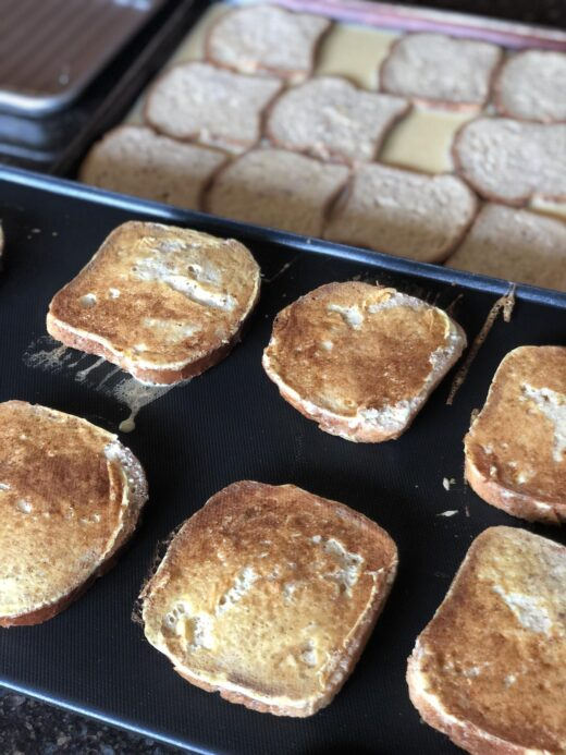 Martha Stewart's Classic French Toast cooking