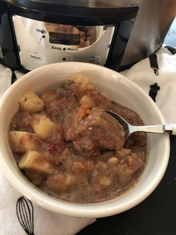 Martha Stewart's Slow Cooker Stew Recipe